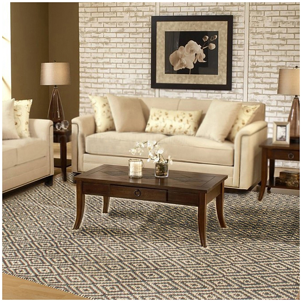 Rugsville Dhurrie Modern Multi Jute Handmade 13630 4x6 Rug   Rugsville  Shopping   Great Deals On Flat Weave Rug | Rugsville.in Part 81
