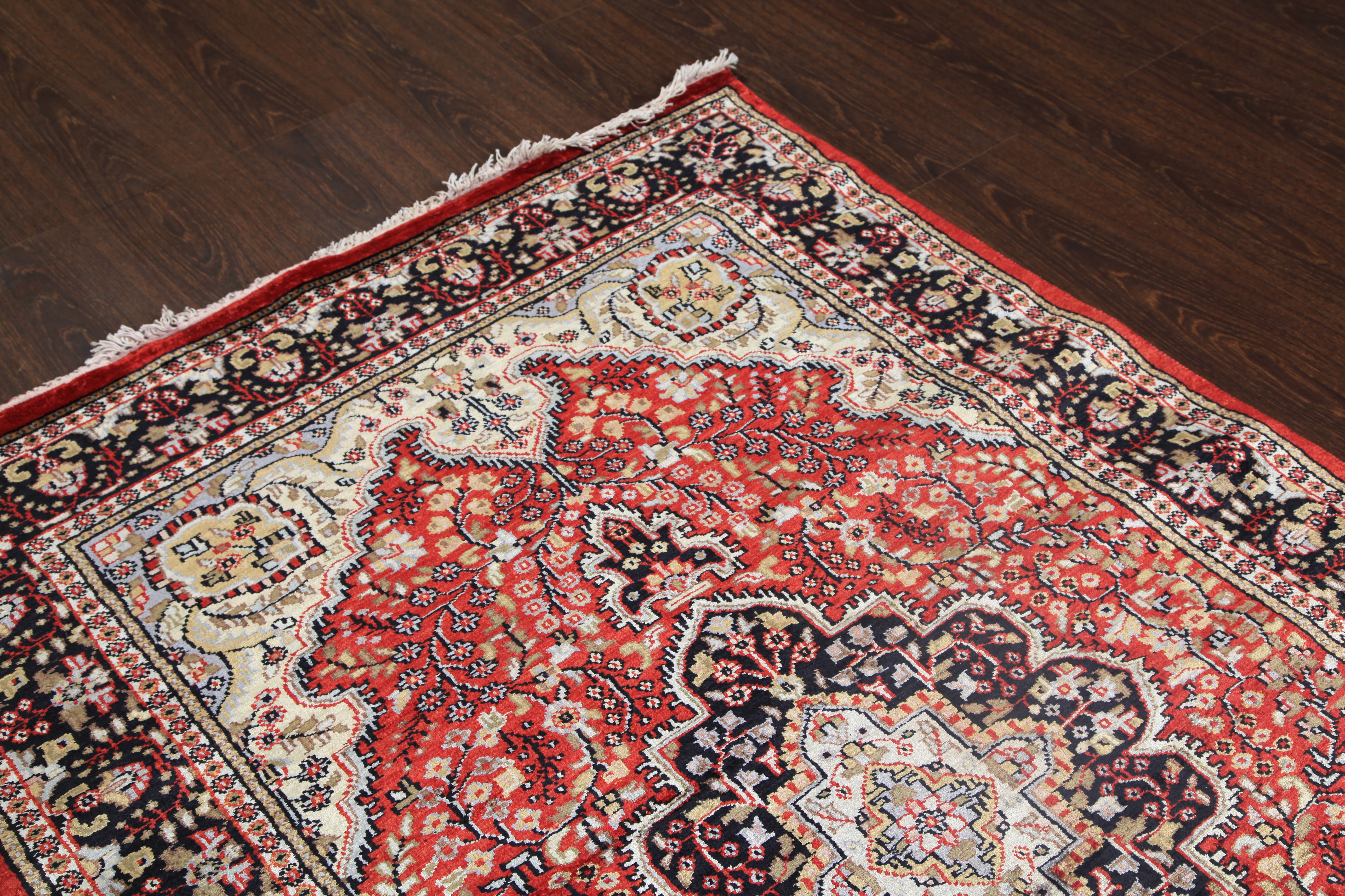 wool knotted hand molurus lindstrom rugs rug and viyet furniture silk designer front
