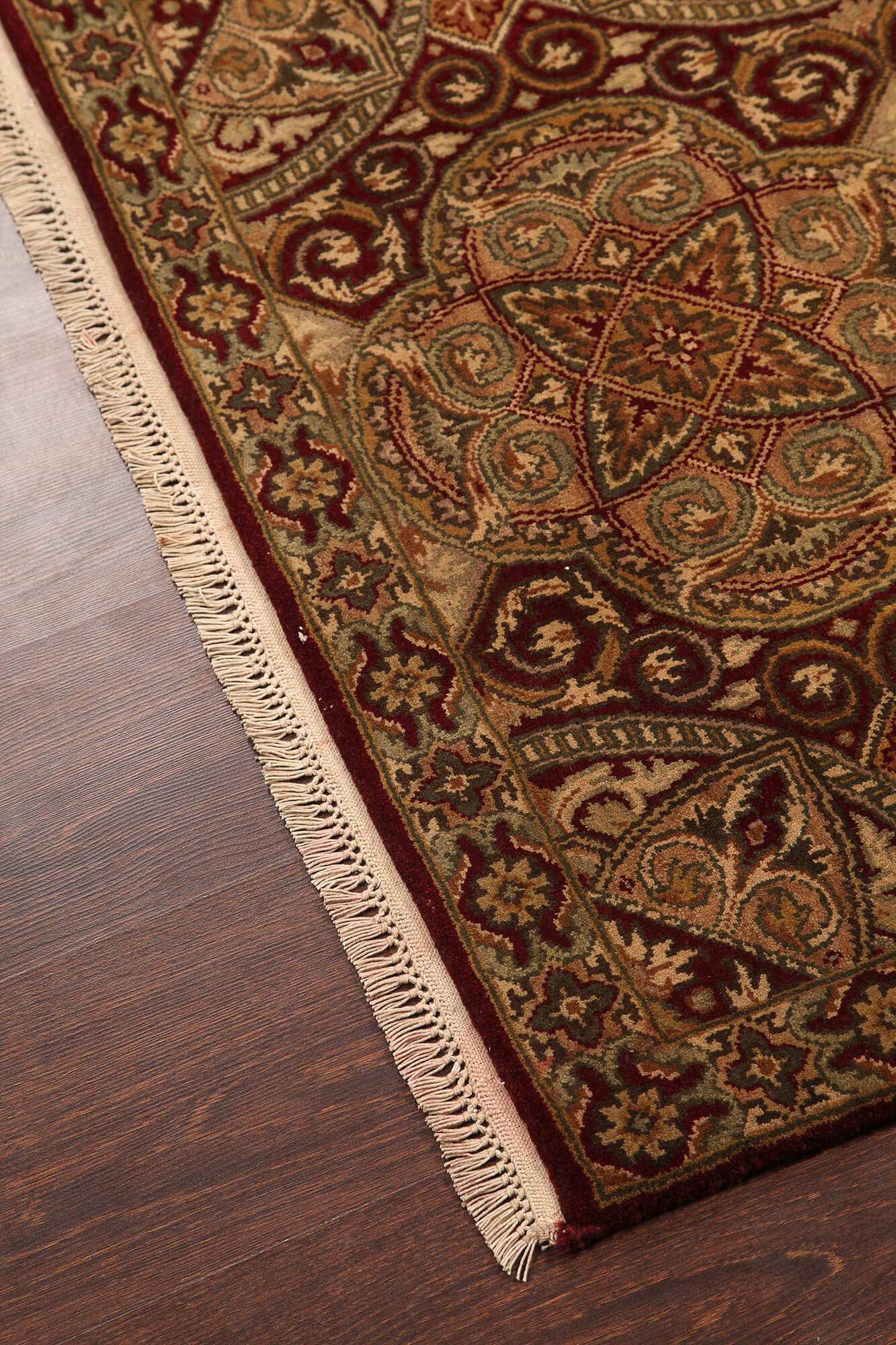 Rugsville Traditional Wool Red Carpet 2 X 3 Buy Online